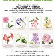 O meu primeiro livro das plantas, 5 de Maio das 15:00 às 17:30