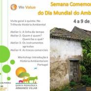Workshop de Introdução à História Ambiental, 9 de Junho das 15:00 às 19:00