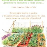 Quem mexeu nas minhas couves? Agricultura biológica e mais além…, Sábado 19 de Dezembro das 10:00 às 16:00