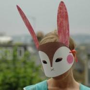 Oficina de construção de máscaras de animais, Sábado 8 de Março das 15:00 às 17:30