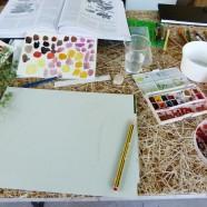Workshop de Ilustração Científica – 1,2,3 Quantas mudas tens?; Sábado 12 de Abril das 15:00 às 17:30